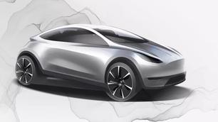 Gerucht: Tesla heeft eerste prototype van stadswagen klaar