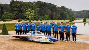 Belgische studenten bouwen eigen zonnewagen