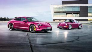 Porsche Taycan kleurt het straatbeeld