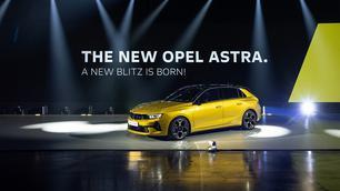 Nieuwe Opel Astra ook elektrisch