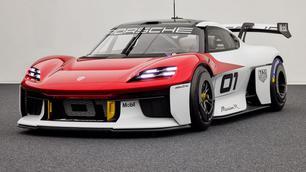 Porsche Mission R Concept: 1.088 elektrische pk's klaar voor het circuit