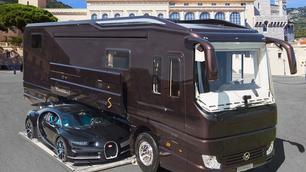 Natuurlijk kan je gewoon gaan kamperen met een Bugatti