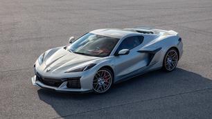 Vidéo : la Corvette Z06 s'échauffe