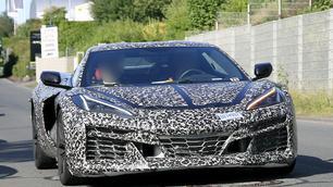 Scoop: cette Corvette camouflée cache une gros secret !