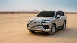 Lexus LX kiest voor giga-radiatorrooster