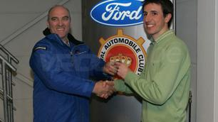 Anthony Martin remporte le Ford Racb Rally Contest