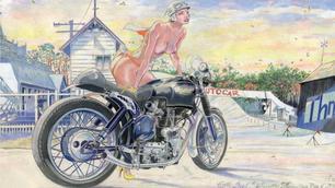 Baron d'Holbach door Denis Sire: mechanisch en vrouwelijk schoon