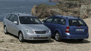 GM Daewoo Nubira SW : la version break familial