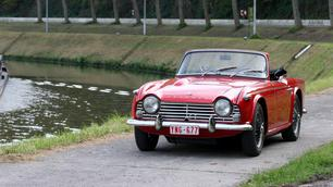 Triumph TR4A 1966: ruwe diamant