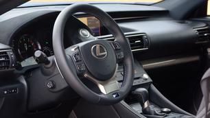 Lexus RC F: mangageneratie