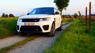 Range Rover Sport SVR: Decibels à volonté