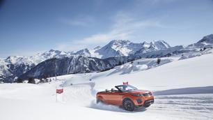 Range Rover Evoque Convertible: niet alleen voor de show
