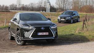Audi SQ5 Plus vs Lexus RX 450h: de schone of het beest?