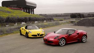 Alfa Romeo 4C Spider en Coupé: hardliners!