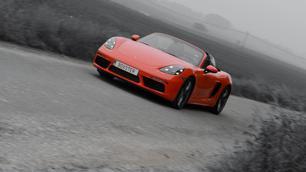 Porsche 718 Boxster S: zijn 4 cilinders beter dan 6?