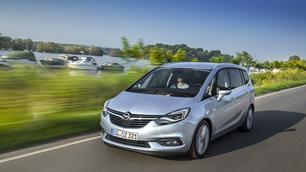 Opel Zafira: de rots in de branding