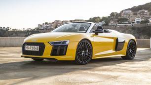 Audi R8 Spyder: allegro molto vivace!