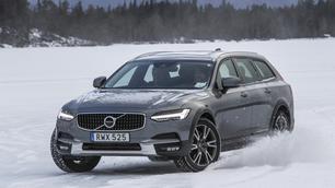 Volvo V90 Cross Country: te land, ter sneeuw en weer terug