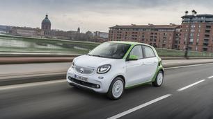 Smart ForFour Electric Drive: geruisloos door de stad