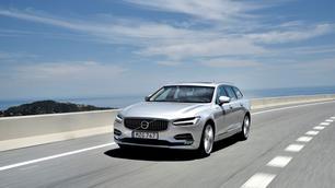 Volvo V90: De referentiepunten door elkaar gegooid
