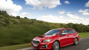 Subaru Levorg: blik op de weg
