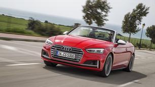 Audi A5 en S5 Cabrio: tweede A5, maar vierde Audi Cabrio!