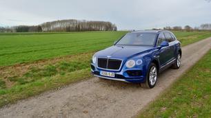 Bentley Bentayga V8 Diesel: gegarandeerde almacht