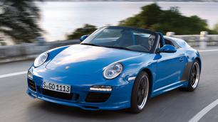 Porsche 911 Speedster 2010: een collector's car getest!