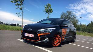 Hyundai i20 Thierry Neuville: voor de fans