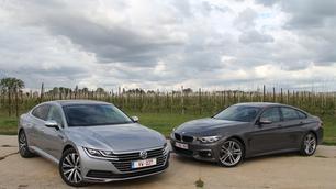 BMW 4-Reeks Gran Coupé vs Volkswagen Arteon: voor wat centimeters extra