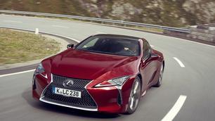 """Lexus LC 500: met of zonder """"h""""?"""