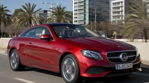 Mercedes E 220d Coupé: wat zachtheid in deze brutale wereld…