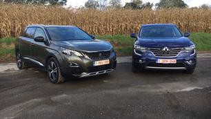 Peugeot 5008 vs Renault Koleos: de Franse tegenaanval