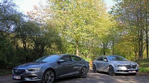 Opel Insignia Grand Sport vs Renault Talisman: een maatje groter