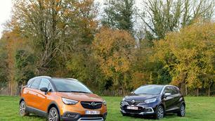 Opel Crossland X vs Renault Captur: de nieuwe lichting