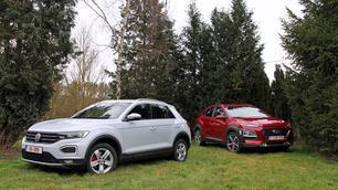 Hyundai Kona vs Volkswagen T-Roc: sterke snoeten
