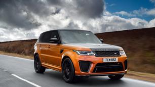 Getest: Range Rover Sport SVR, brutale brulboei
