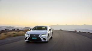 Rijtest: Lexus LS 500h, de elektrolimousine