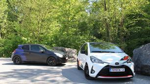 Peugeot 208 GTi by Peugeot Sport vs Toyota Yaris GRMN: puristenbattle