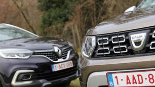 Dacia Duster vs Renault Captur: van je familie moet je 't hebben!