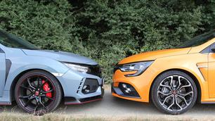 Honda Civic Type R vs Renault Mégane RS : combat de références !