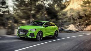 Test: Audi RS Q3 Sportback, plezier tot de vijfde macht