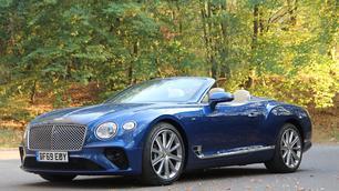 Test: Bentley Continental GT Cabriolet V8, in de watten gelegd
