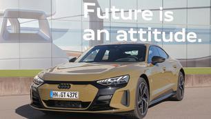 Eerste test: Audi RS e-tron GT, grondraket