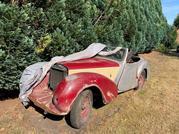 TRIUMPH ROADSTER 1947. 1800 cc benzine OLDTIMER
